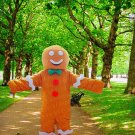 high quality gingy mascot costume adult size Halloween costume fancy dress free shipping