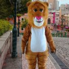 high quality lion cat mascot costume adult size Halloween costume fancy dress free shipping