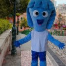 high quality blue female mascot costume adult size Halloween costume fancy dress free shipping