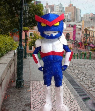 high quality robot mascot costume adult size Halloween costume fancy dress free shipping