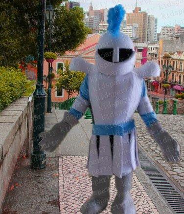 lancer knight hero mascot costume adult size Halloween costume fancy dress free shipping
