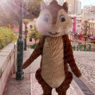 high quality squirrels mascot costume adult size Halloween costume fancy dress free shipping