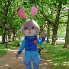 high quality rabbit mascot costume adult size Halloween costume fancy dress free shipping