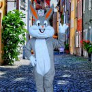 high quality bugs rabbit mascot costume adult size Halloween costume fancy dress free shipping