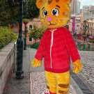 high quality Tiger mascot costume Daniel adult size Halloween costume fancy dress free shipping