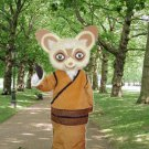 high quality shifu mascot costume adult size Halloween costume fancy dress free shipping