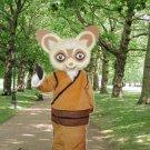 high quality shifu mascot costume adult size Halloween costume fancy dress free shipping