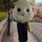 high quality sheep mascot costume alex adult size Halloween costume fancy dress free shipping