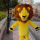 New lion king mascot costume alex adult size Halloween costume fancy dress free shipping