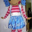 Blue Lalaloopsy Jewel Sparkles Character Mascot Costume Halloween Costumes fancy dress Outfit