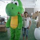 2014 new bulk grass green dragon mascot costume/dragon costume mascot costume