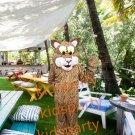Friendly Jaguar mascot costume custom fancy costume anime fancy dress carnival costume