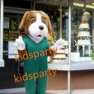 Hot Sale Adult Mascot Costume Dog Mascot Costume, Cartoon Mascot Costume Doctor Dog Mascot