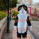 New black cat mascot costume fancy party dress suit carnival costume fursuit mascot