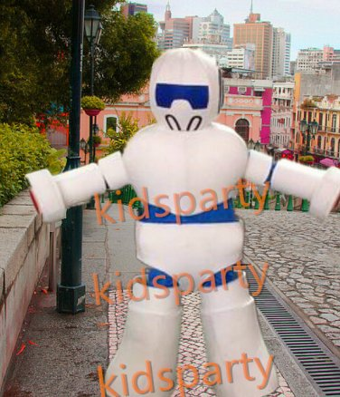 New robot mascot costume bear fancy party dress suit carnival costume fursuit mascot