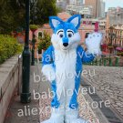 New fox fursuit mascot costume fancy party dress suit carnival costume fursuit mascot