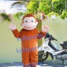 New monkey mascot costume fancy party dress suit carnival costume fursuit mascot