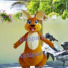 New kangaroo mascot costume fancy party dress suit carnival costume fursuit mascot
