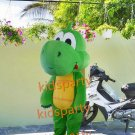 New dinosaur green mascot costume fancy party dress suit carnival costume fursuit mascot