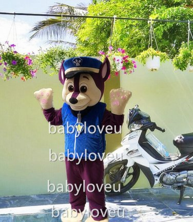 New dog mascot costume fancy party dress suit carnival costume fursuit mascot