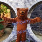 Big Grizzly Bear mascot costume fancy party dress suit carnival costume fursuit mascot