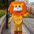 New lion mascot costume fancy party dress suit carnival costume fursuit mascot