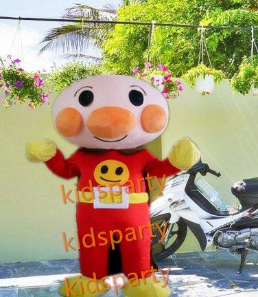 hot sale Anpanman mascot costume new cartoon boy costumes baseball mascot costumes