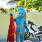 New blue boy Costume cartoon costumes advertising costume school mascot fancy dress