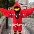 New red bird Cardinal mascot costume fancy costume cosplay fancy dress carnival costume
