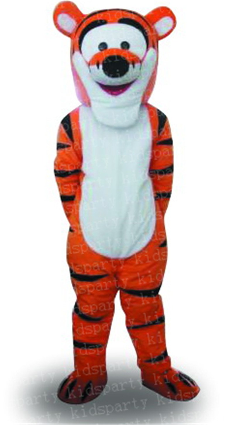 Wholesale new Tiger Mascot Costume Cartoon Mascot Costume Free Shipping