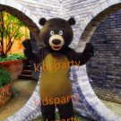 Hot Sale Christmas Brown Bear Cartoon Mascot Costume Animal Fancy Dress Outfit