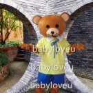 Hot Sale bear Cartoon Mascot Costume Animal Fancy Dress Outfit
