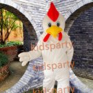Wholesale - White Cock Rooster Chicken Mascot Costume Animal mascot costume free shipping