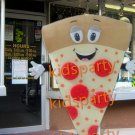 New Pizza Mascot Costume Custom Fancy Dress Cosplay Cartoon  Fancy Costume