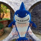 new shark Mascot Costume Suit Adult Size Breathable  Costumes