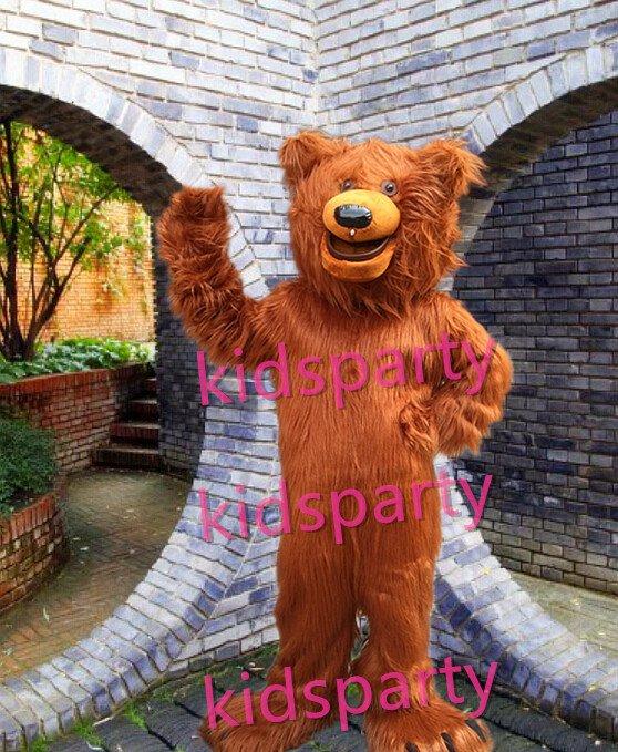 NEW style brown bear mascot costume