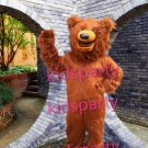 NEW style brown bear mascot costume