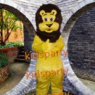 New yellow bear Mascot Costumes Christmas Halloween Outfit Fancy Dress Suit Free Shipping