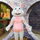 New bunny rabbit Mascot Costumes Christmas Halloween Outfit Fancy Dress Suit Free Shipping