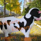 high quality two person cow mascot costume Christmas Halloween Outfit Fancy Dress Suit Free Shipping
