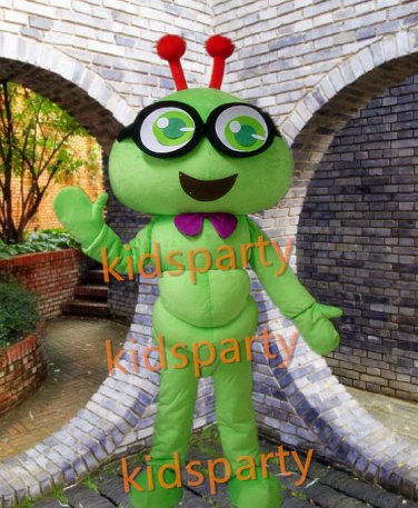 New plush carpenterworm costume worm mascot costume Christmas Halloween Free Shipping