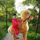 New 2 person horse mascot costume Christmas Halloween Outfit Fancy Dress Suit Free Shipping