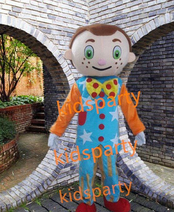 new high quality walking disguise boy clown mascot costumes Free Shipping