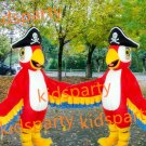 new high quality walking disguise Pirates parrot mascot costumes Free Shipping