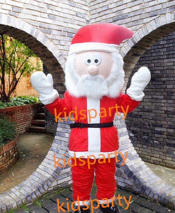 Professional  Santa Claus mascot Costume WholeSale price mascot Cartoon Clothing
