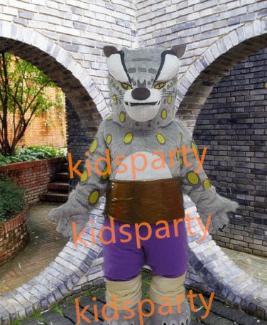 new high quality walking disguise tiger mascot costumes Free Shipping