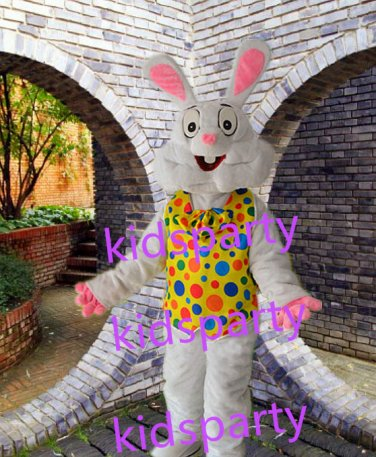 New Easter rabbit mascot costume fancy costume fancy dress carnival costume