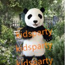 New panda mascot costume fursuit bear fancy dress carnival costume
