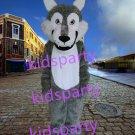 New Grey Wolf mascot costume fursuit bear fancy dress carnival costume