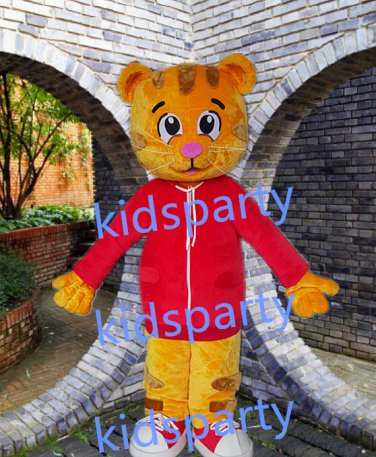New tiger mascot costume fursuit  fancy dress carnival costume